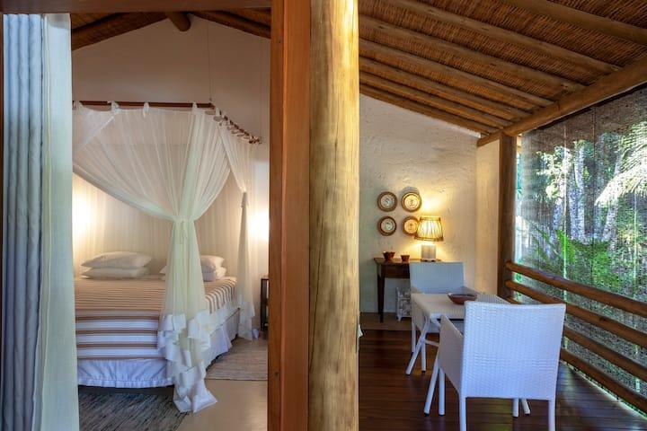 Etnia Casa Hotel - Villas Ojulé e Ebatí para 2 Pessoas com Vista Jardim