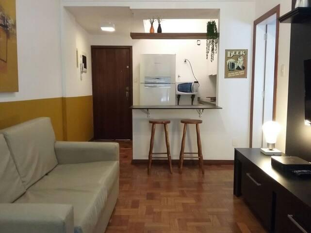 Apartamento Almirante #905 - 1 min da praia