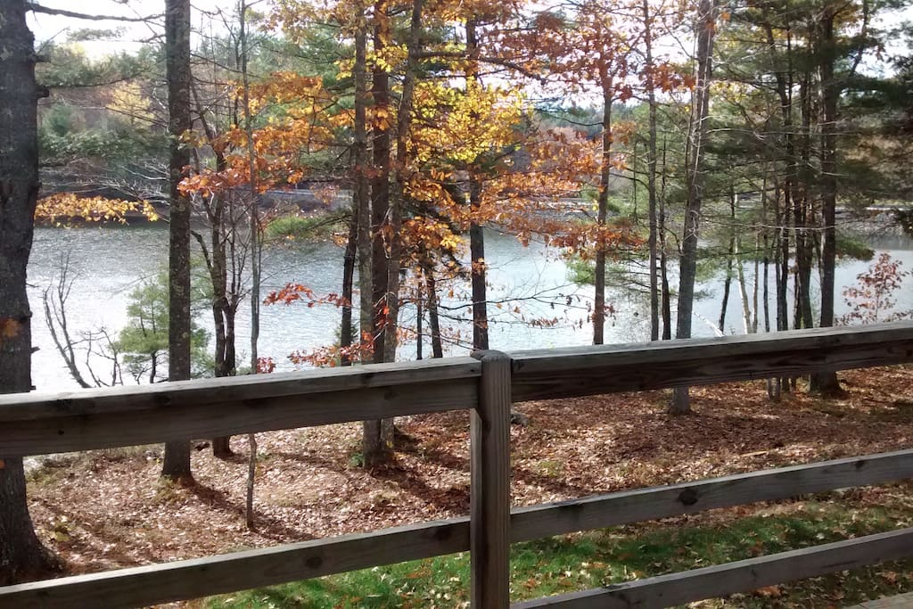 Another angle of the view from the front porch