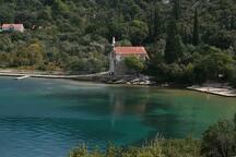 beach Slano Banja 1000 meters from the house