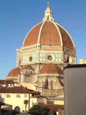 Vista dalla camera.. from the bed-room window..