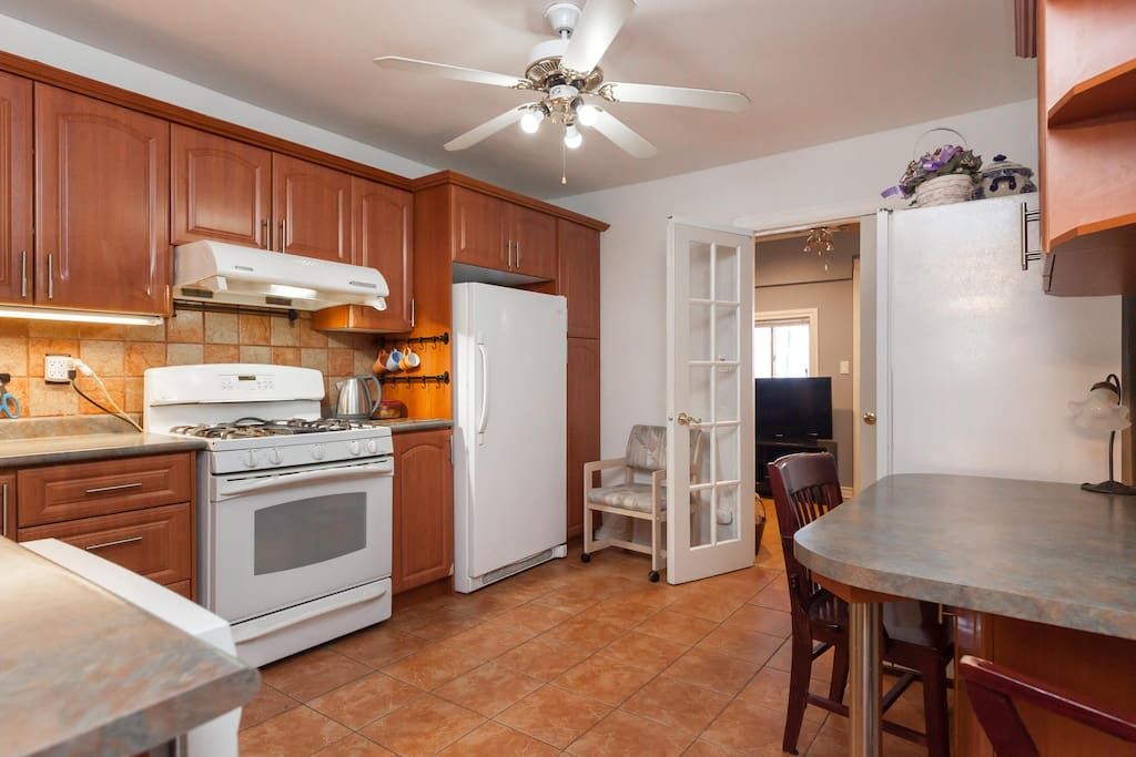 Kitchen shared space