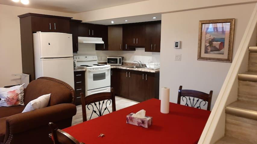 logement à louer à 10mn du centre ville d'Ottawa