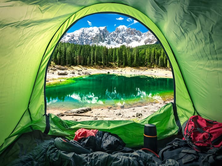 Camping Gear Package - Switzerland/Italian Lakes