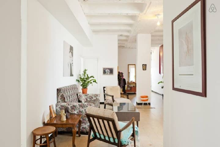 a budget apartment at the heart of Florentine