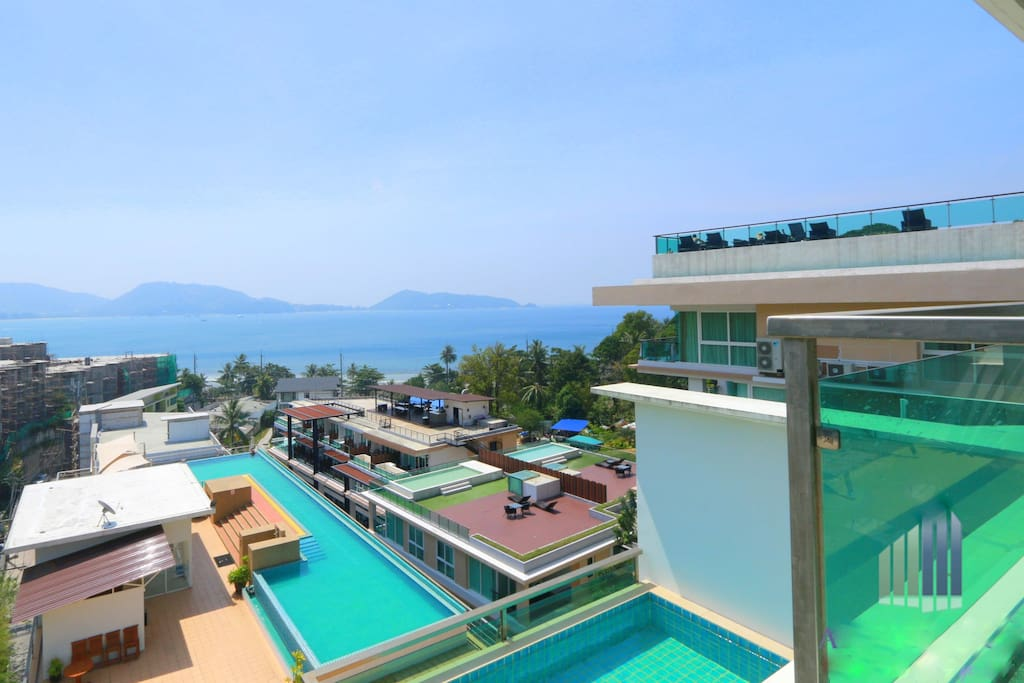 3 bedroom sea view apartment patong apartments for rent for Patong apartments