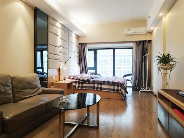 中街一室一家公寓大床房