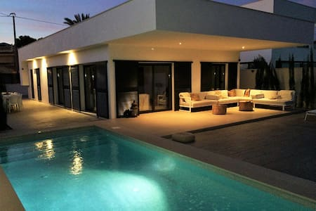 Modern design villa with private pool in Albir - l'Alfàs del Pi