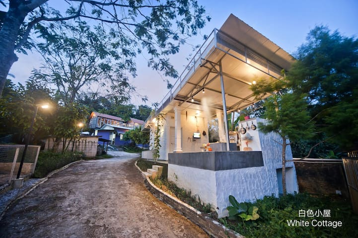 White Cottage @ Sungkai Hills Farmstay 4-5pax