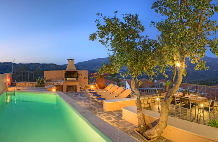 Villa Idi: pure relaxation in the heart of Crete - Amari - Vila
