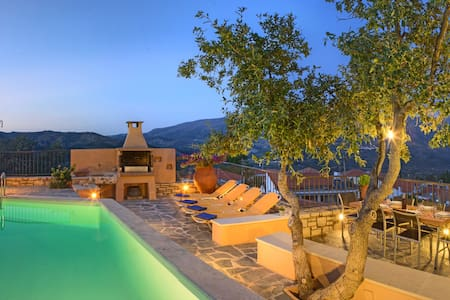 Villa Idi: pure relaxation in the heart of Crete - Amari - Casa de camp