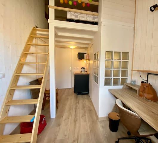 Joli studio près des quais du Rhône