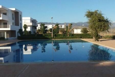 Appart whit  piscine  near plage Imiouadar Agadir