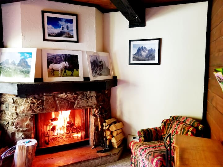 ART FILLED VAIL COLORADO  CABIN  FP 2BR SLEEPS 4-5