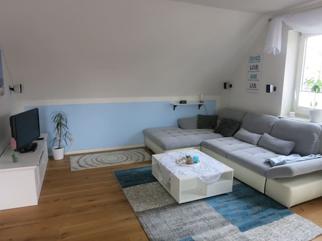 Penthouse Appartement in Hamburg, 2 Rooms, 74 sqm