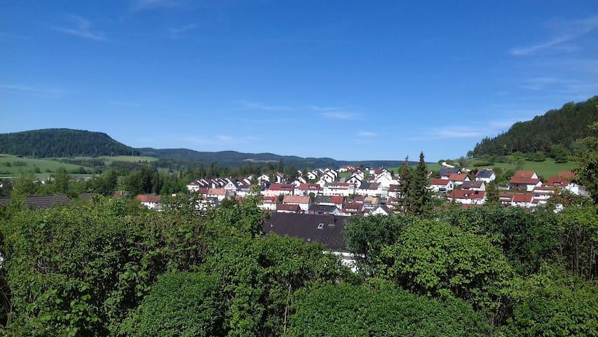 """Ferienwohnung """"Traufweg"""" mit tollem Ausblick"""