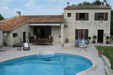 Chambre chez l'habitant 1 - Meschers-sur-Gironde - Hus