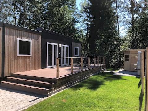 Wonderful mobile home with outside sauna (WA 103)