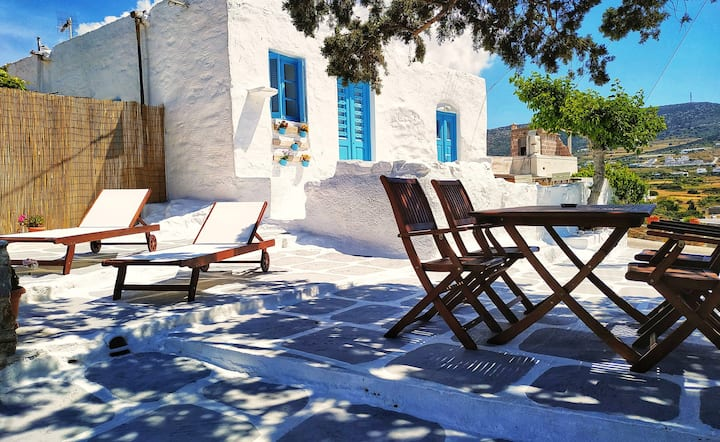 Danae's cycladic house, est. 1880!!! 2-6 guests