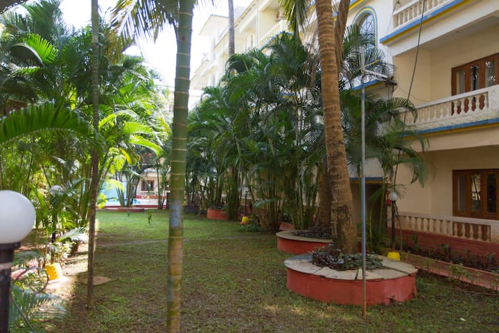 Calangute Dream 1bhk Luxury Apartment - Calangute - Appartement