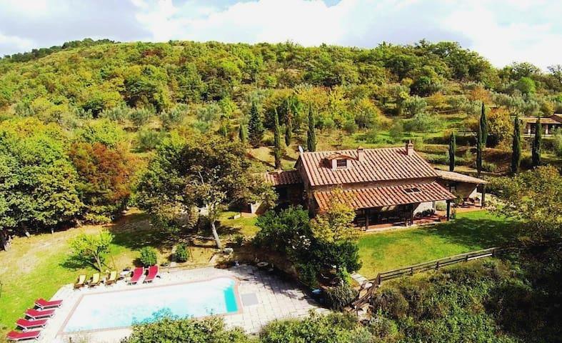 TUSCANY VILLA PRINCIPE WITH POOL - Castiglion Fiorentino - Villa