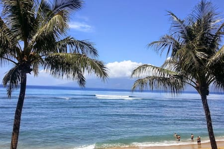 OCEANFRONT with an awesome view! - Lahaina - Condominium