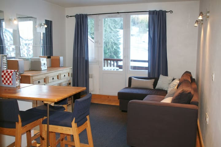 La Tania 3 Valleys, one bedroom apt -  La Tania - Byt