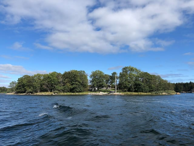 Own island in Stockholm archipelago