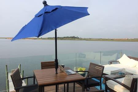 CBI Bayfront House: Incredible Views, Deck & Style - Stafford Township - Haus