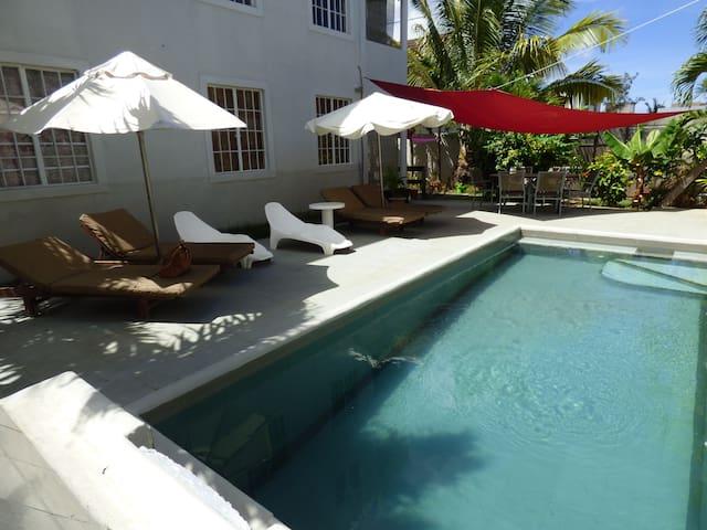 Palm Villa appartement piscine - Trou aux biches