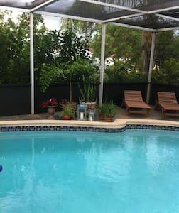 Zimmer mit Pool inkl.Parkplatz - Miami