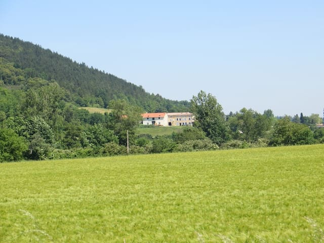 Farmhouse near Mirepoix, Ariege, - Manses - Rumah