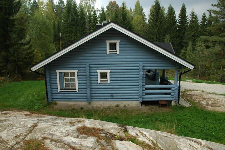 Уютный коттедж рядом с озером. - Ruokolahti - Maison