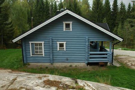 Уютный коттедж рядом с озером. - Ruokolahti - Rumah