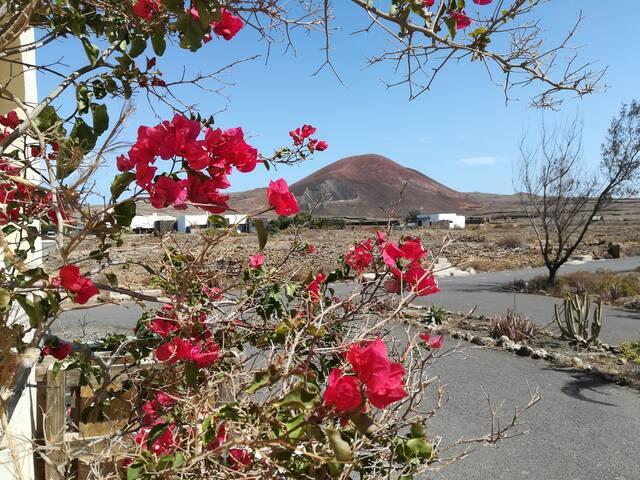 Habitación, Casa panorámica volcan Calderon hondo