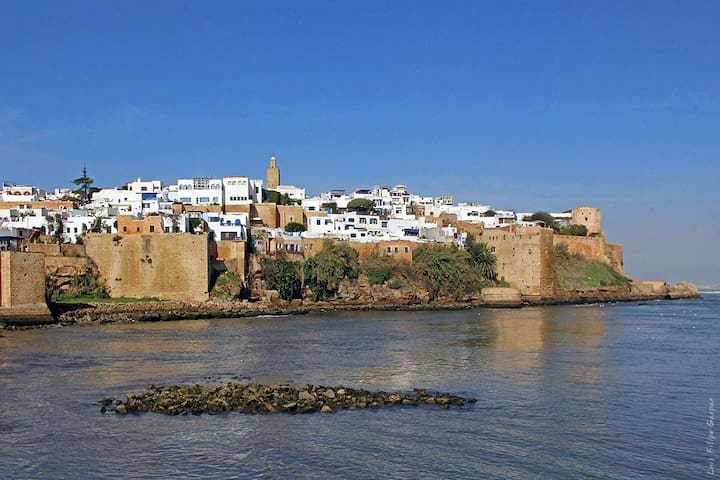 Beautiful Traditional house in the medina of rabat