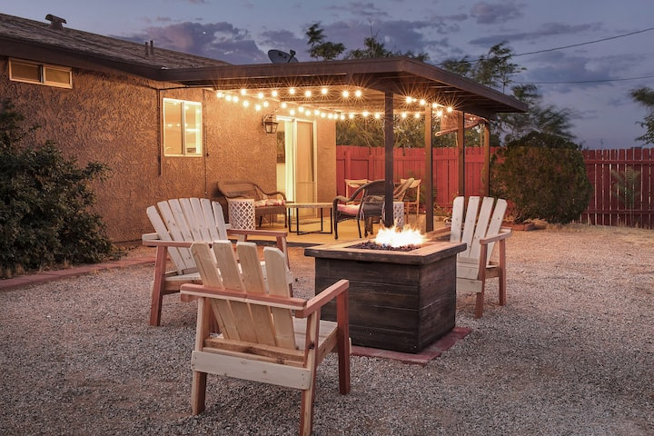 Casa Tomas near Park & JT Village-AC/View/Fire Pit