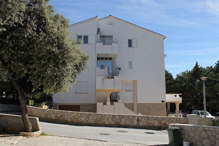 Studio flat with air-conditioning Novalja (Pag) (AS-9349-b)