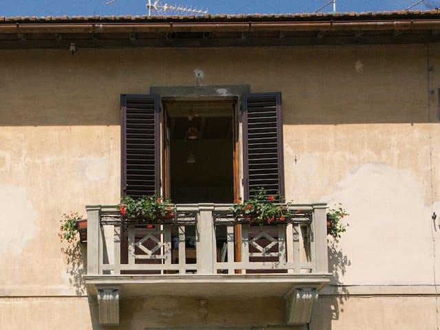 Il Balcone di Rina su San Gimignano