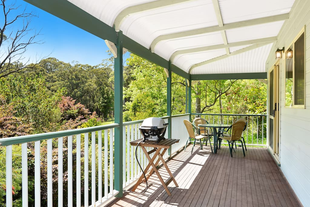 Sunny and private verandah