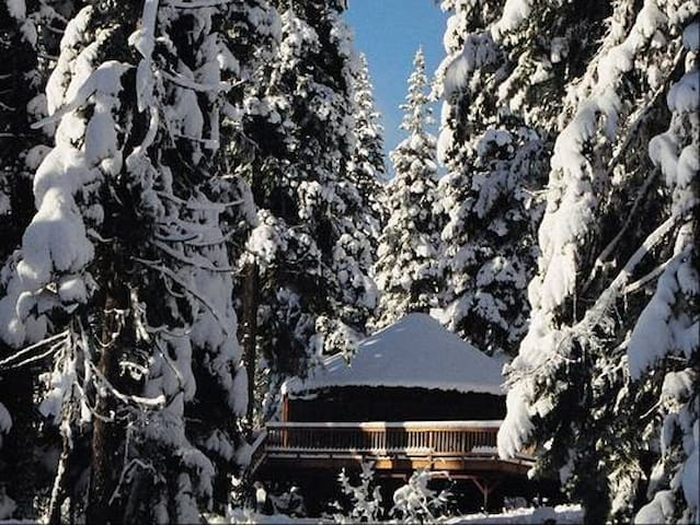 Snowed Inn -> luxury Yurt - McCall