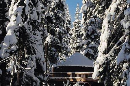 Snowed Inn -> luxury Yurt - McCall - Rundzelt