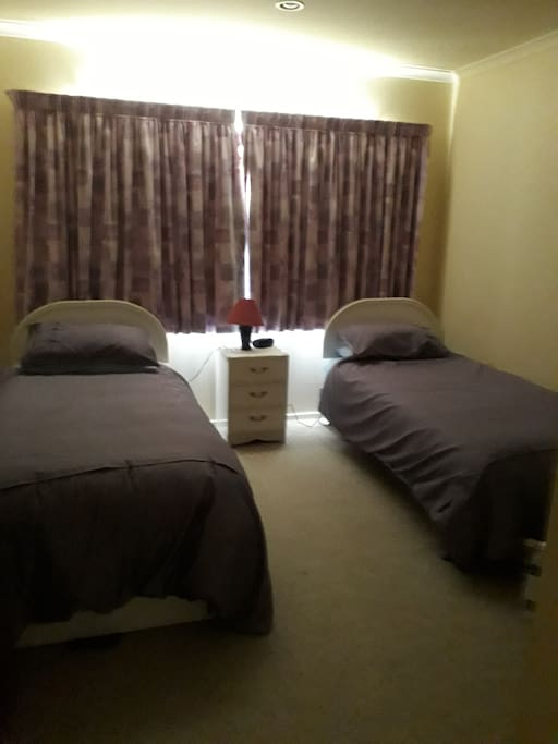 Bedroom with two singlebeds