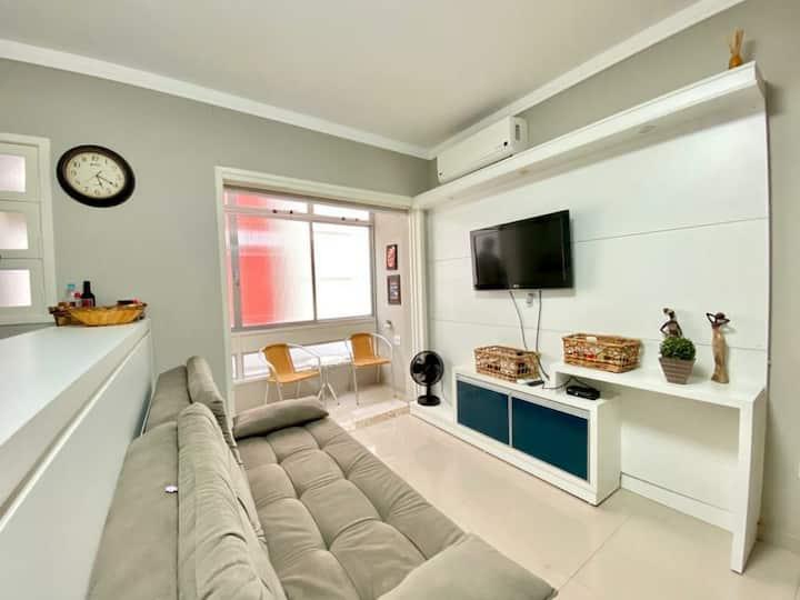 Apartamento confortável e charmoso em Capão