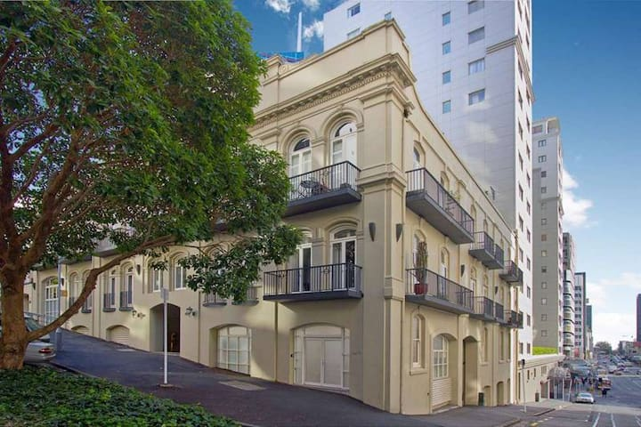 Exterior day - elegance and charm in the heart of Auckland city
