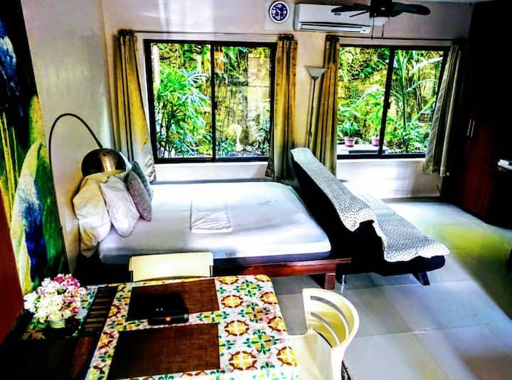NM Greenpoint condo unit rental - charming studio