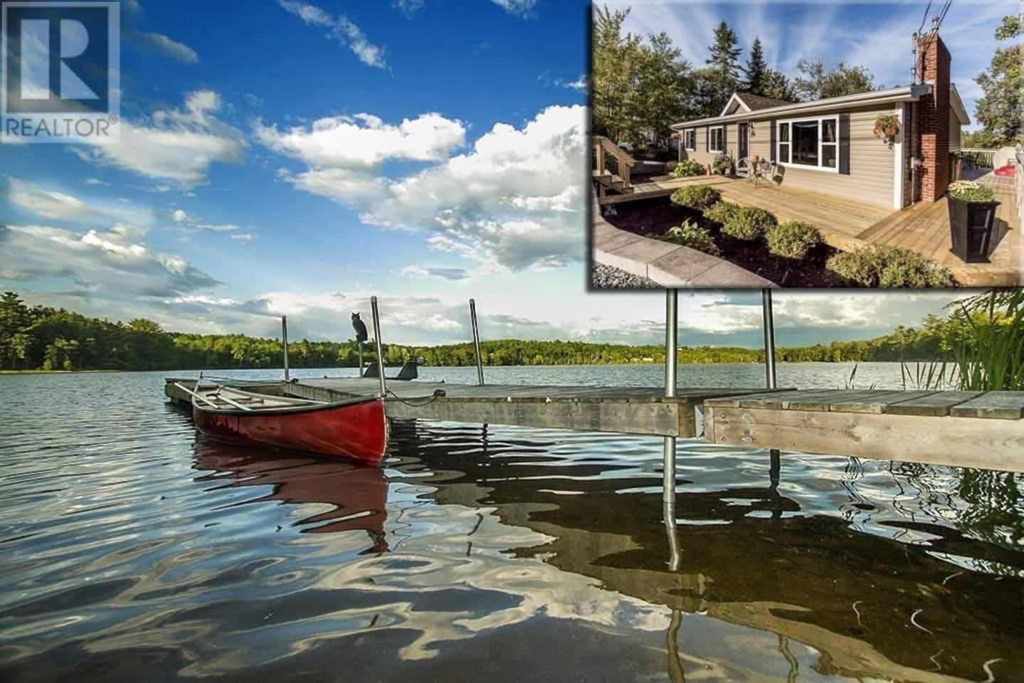 Canoe or row the lake