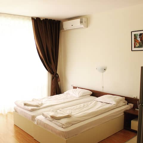 Sunny Beach, Fort Noks «Orchid», new apartment