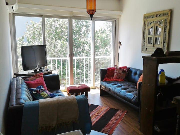 Cálido apartamento de 2 dormitorios en Parque Rodó