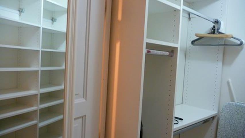 Custom Closets throughout with plenty of storage.